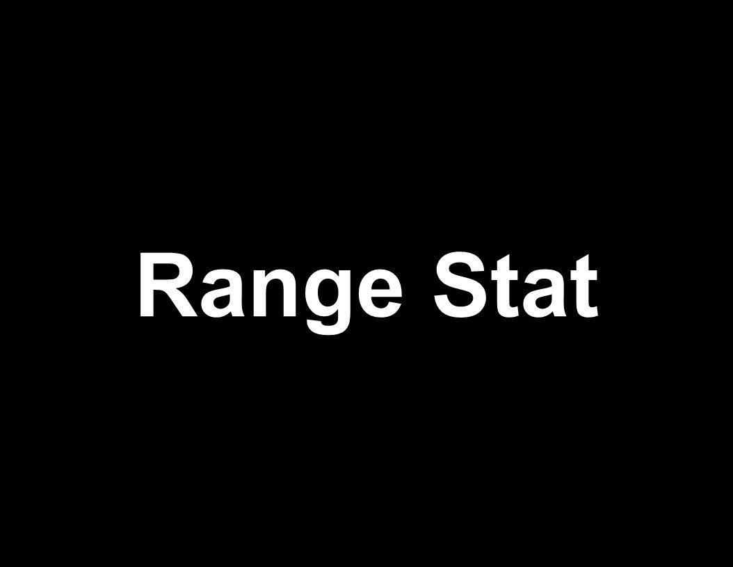 Range Stat