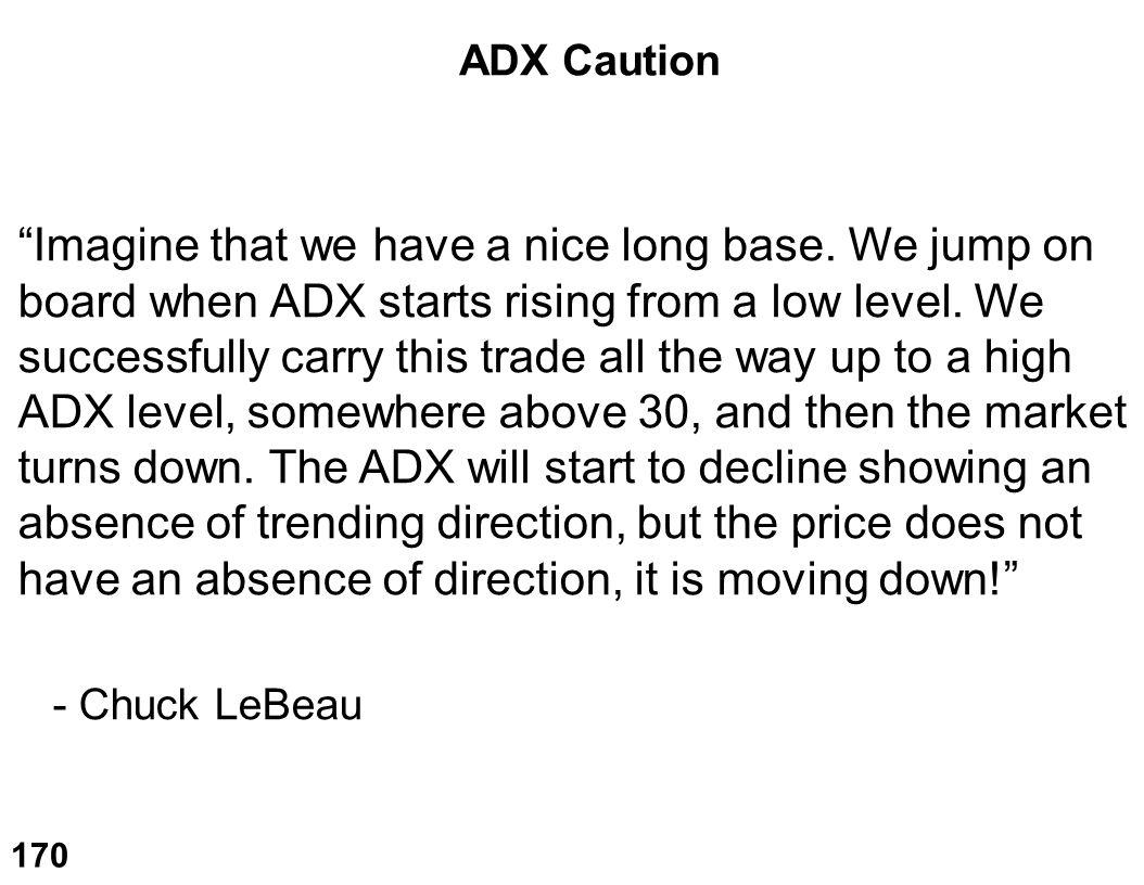 ADX Caution