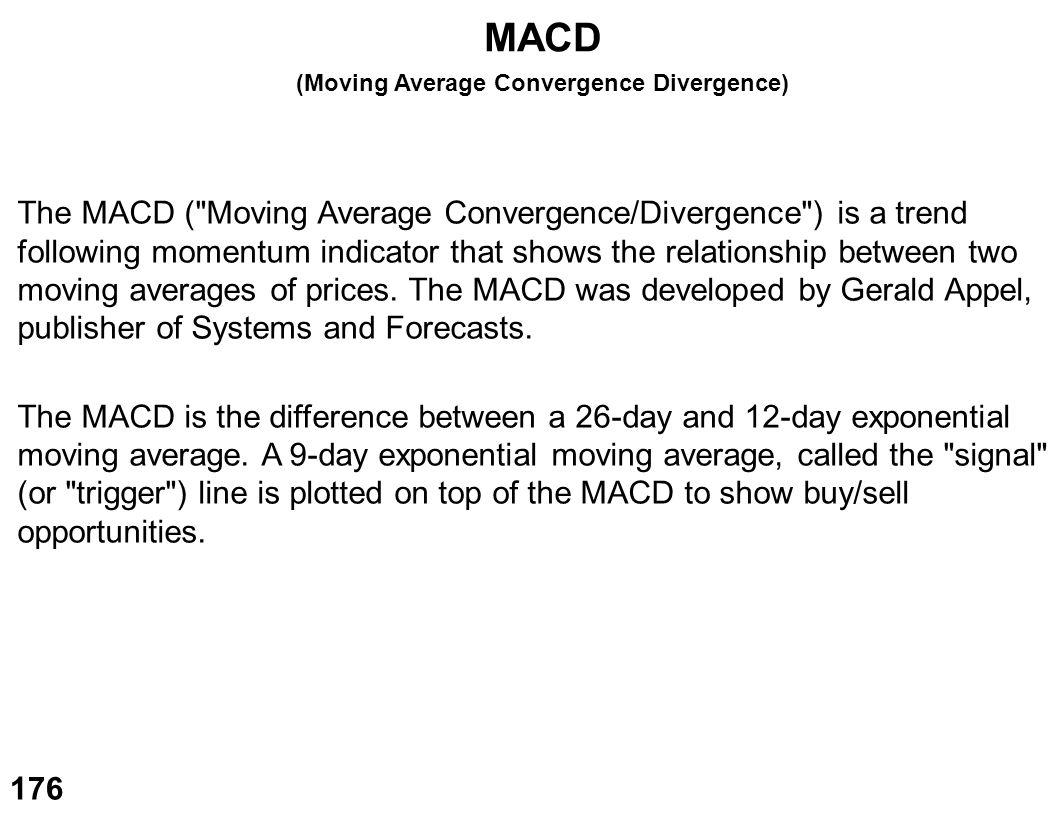 (Moving Average Convergence Divergence)
