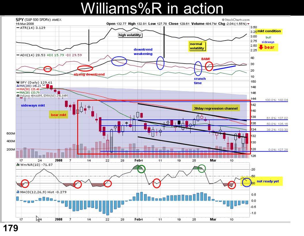 Williams%R in action