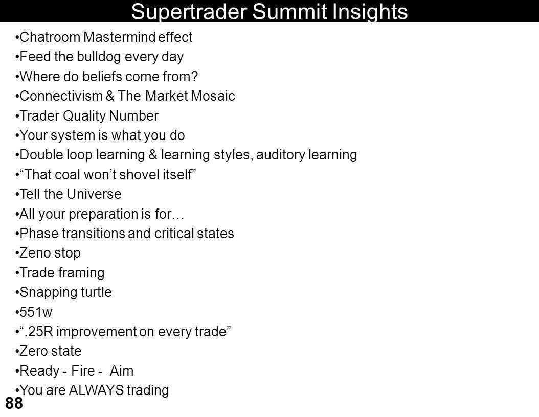 Supertrader Summit Insights