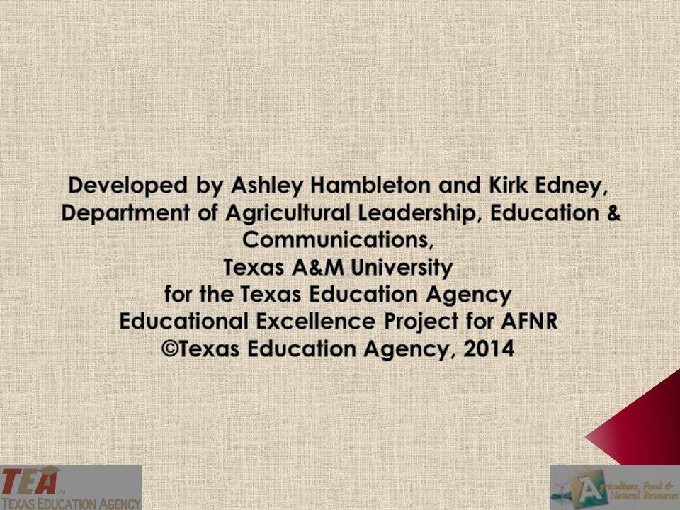 Developed by Ashley Hambleton and Kirk Edney,
