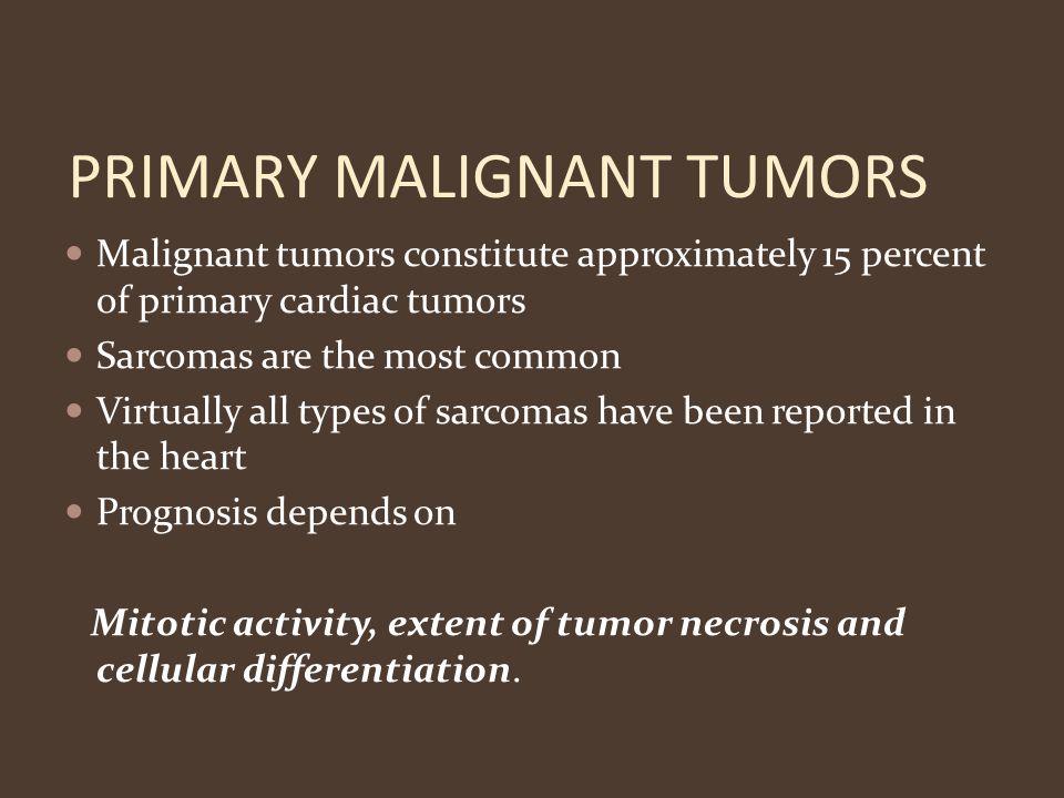 PRIMARY MALIGNANT TUMORS