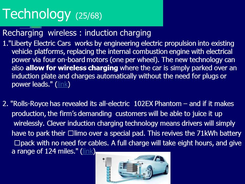 Technology (25/68) Recharging wireless : induction charging