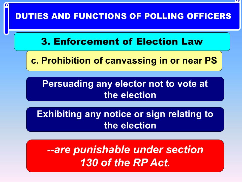 --are punishable under section 130 of the RP Act.