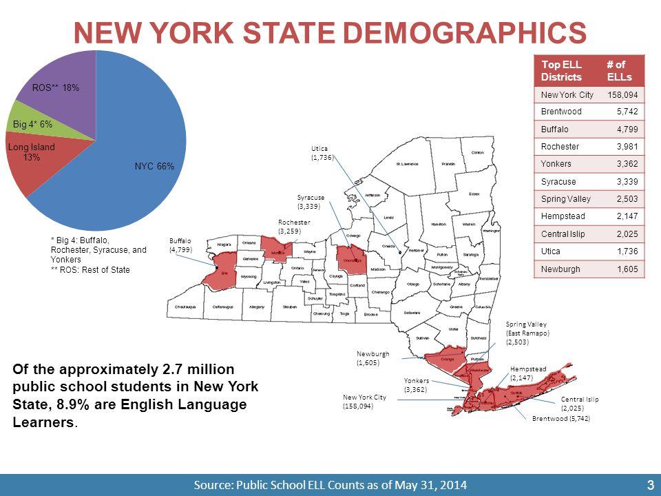 NEW YORK STATE DEMOGRAPHICS