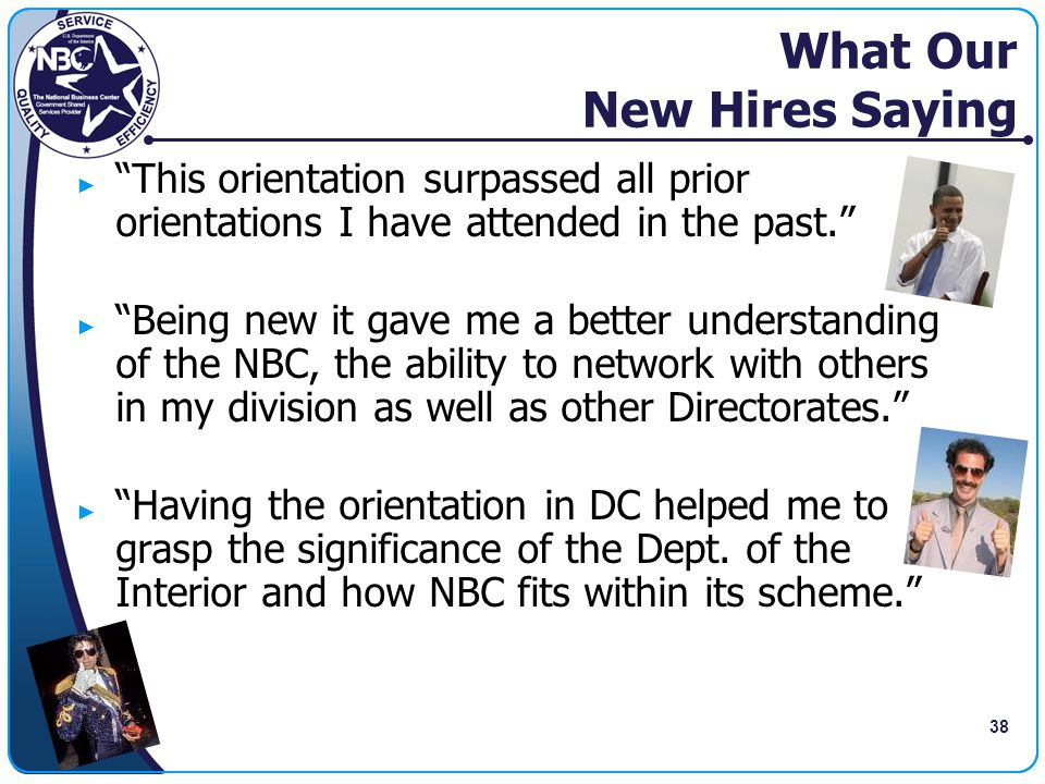 What Our New Hires Saying