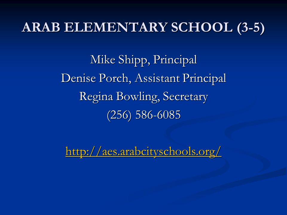 ARAB ELEMENTARY SCHOOL (3-5)