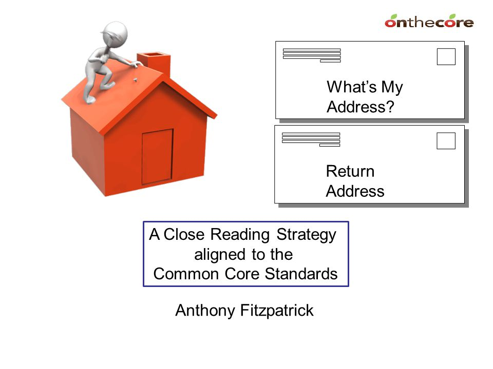 A Close Reading Strategy