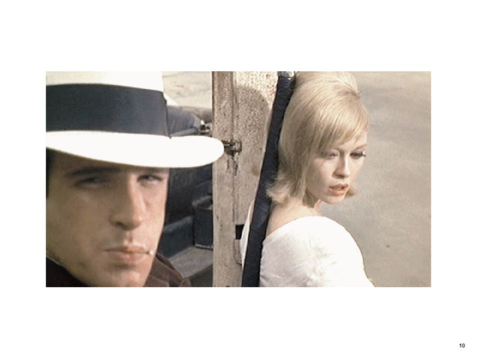 Unsatisfied expectations in Bonnie and Clyde (1967)