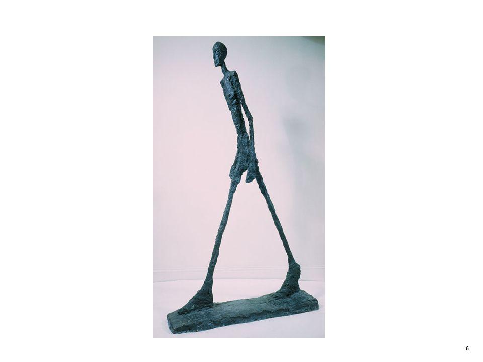 Walking Man II. Alberto Giacometti (1901–1966)