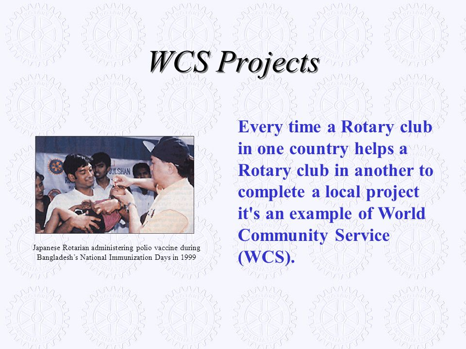 WCS Projects