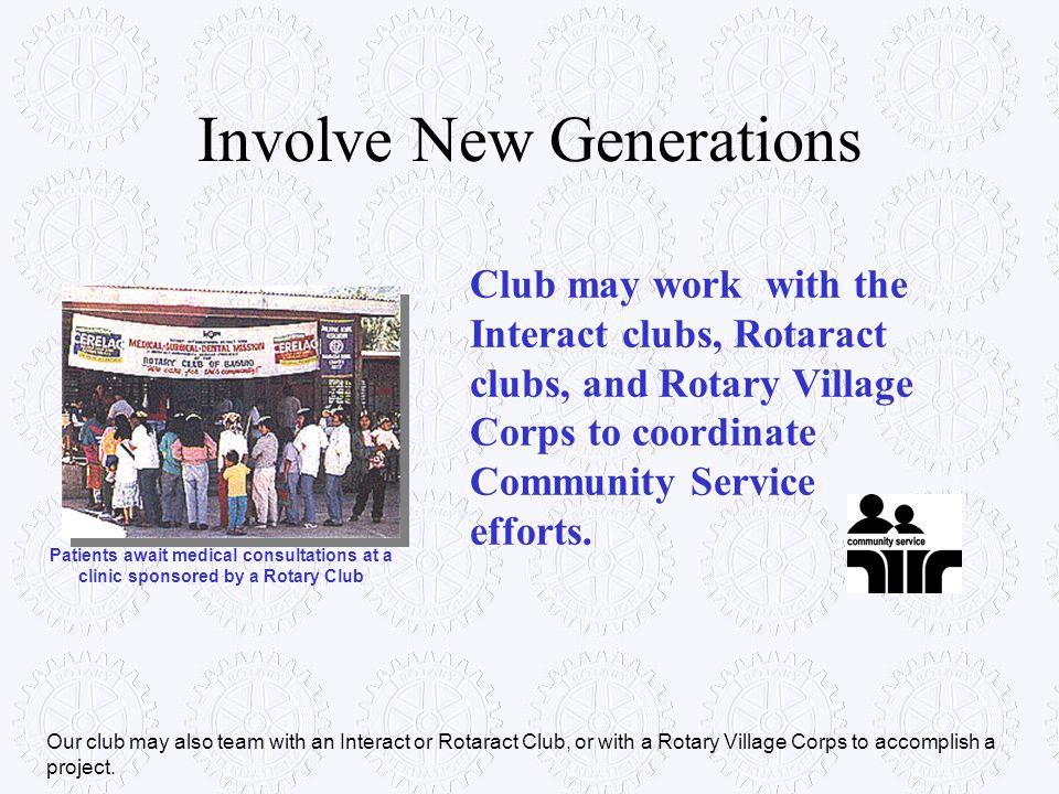 Involve New Generations