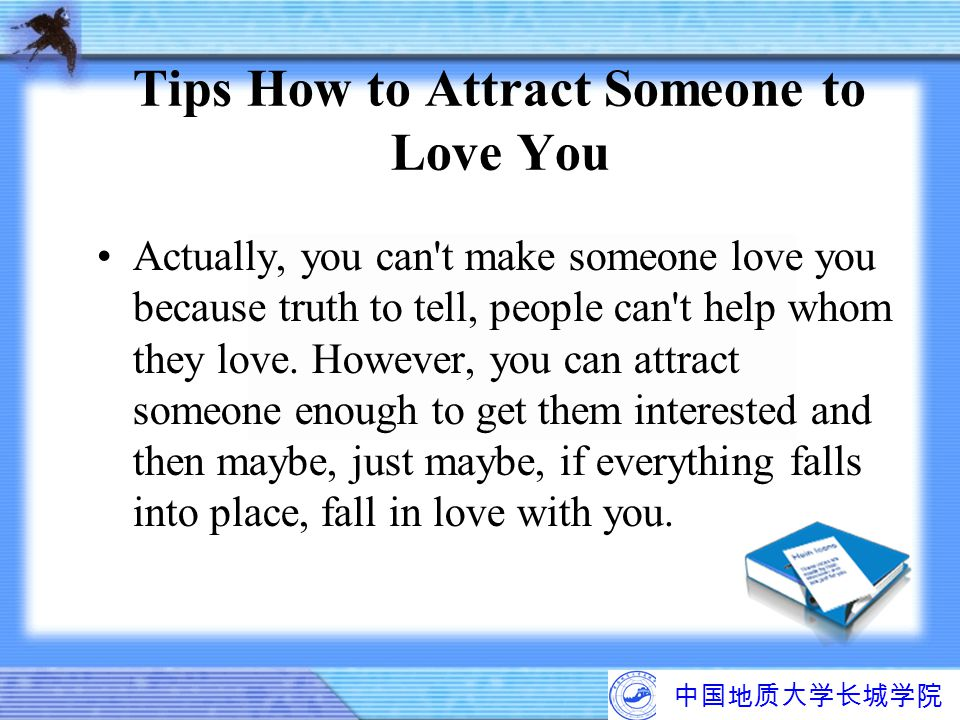 Tips How to Attract Someone to Love You