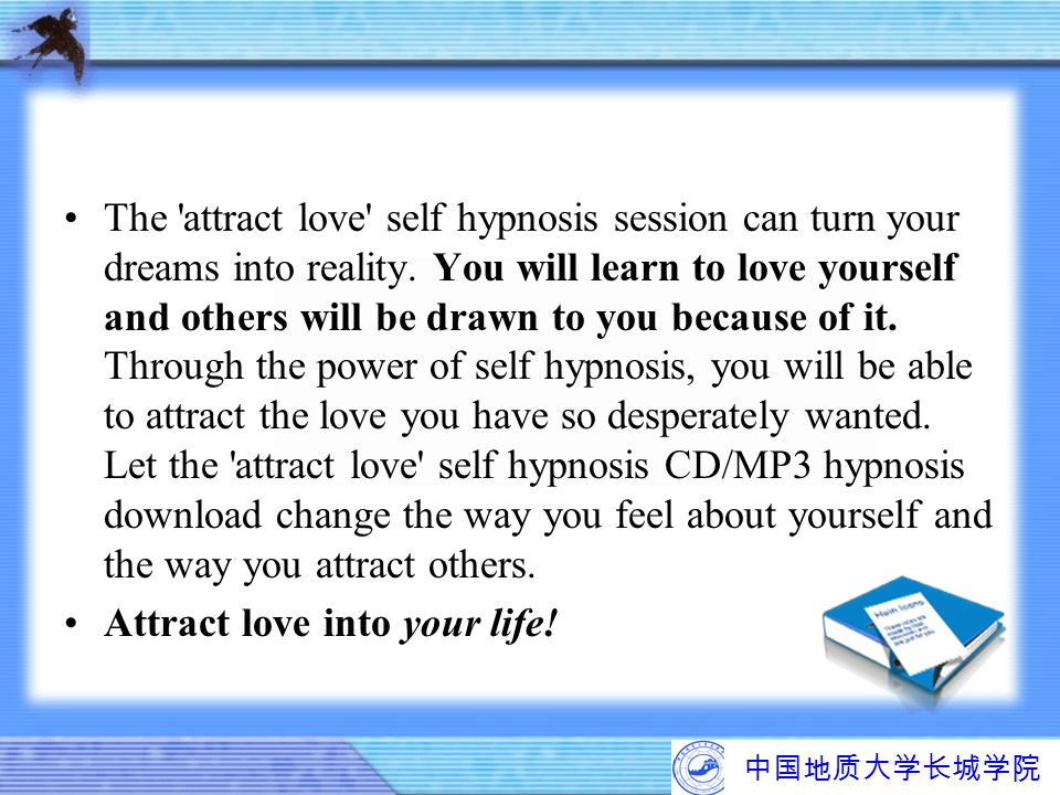 Attract love into your life!