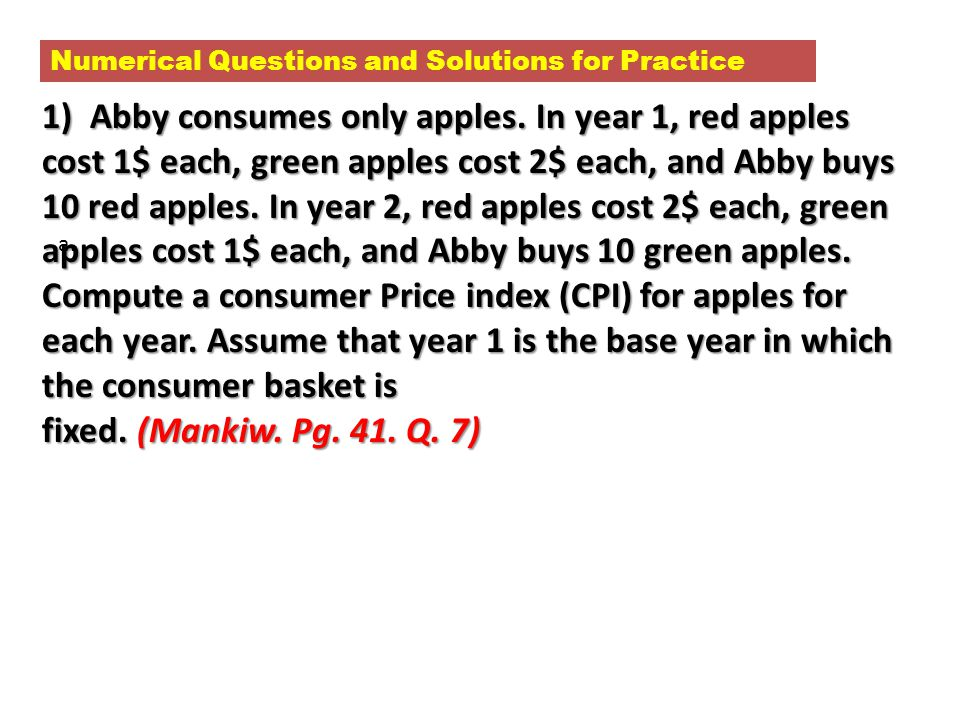 Numerical Questions and Solutions for Practice