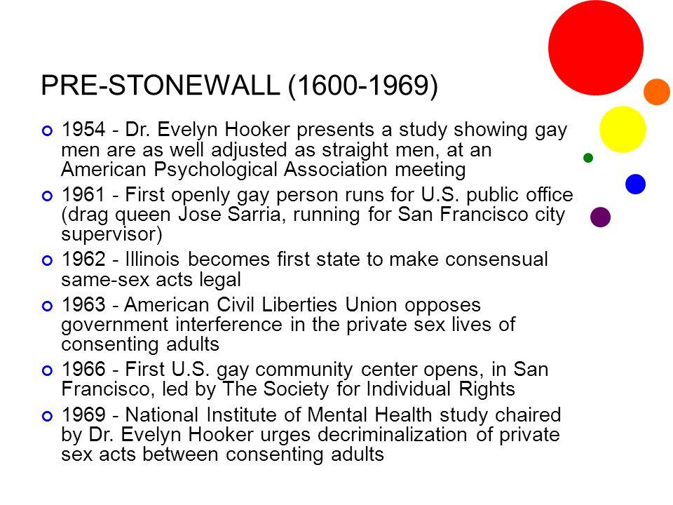 PRE-STONEWALL (1600-1969)