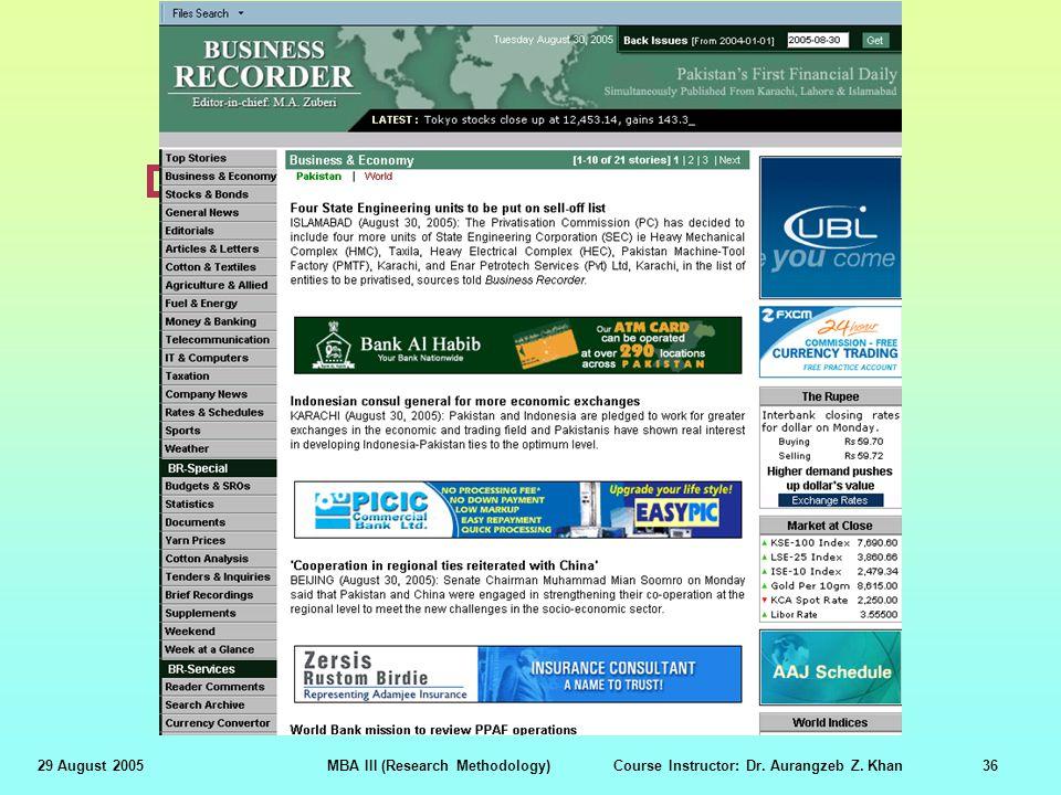 Business Recorder (www.brecorder.com)