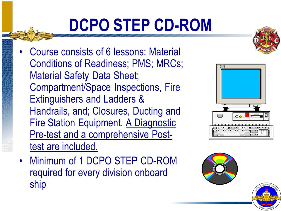DCPO STEP CD-ROM