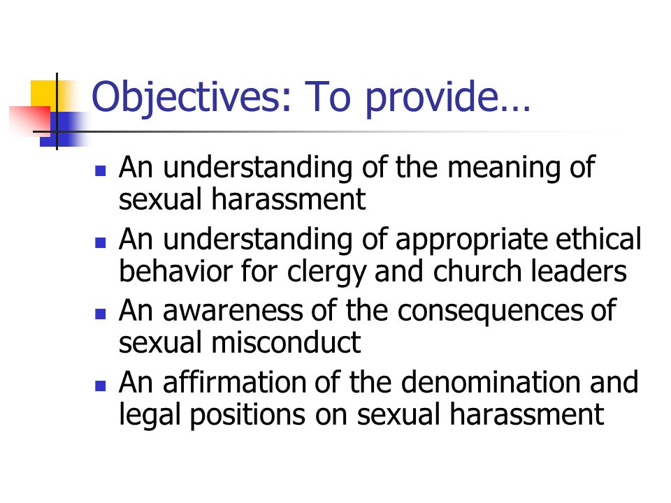 Objectives: To provide…