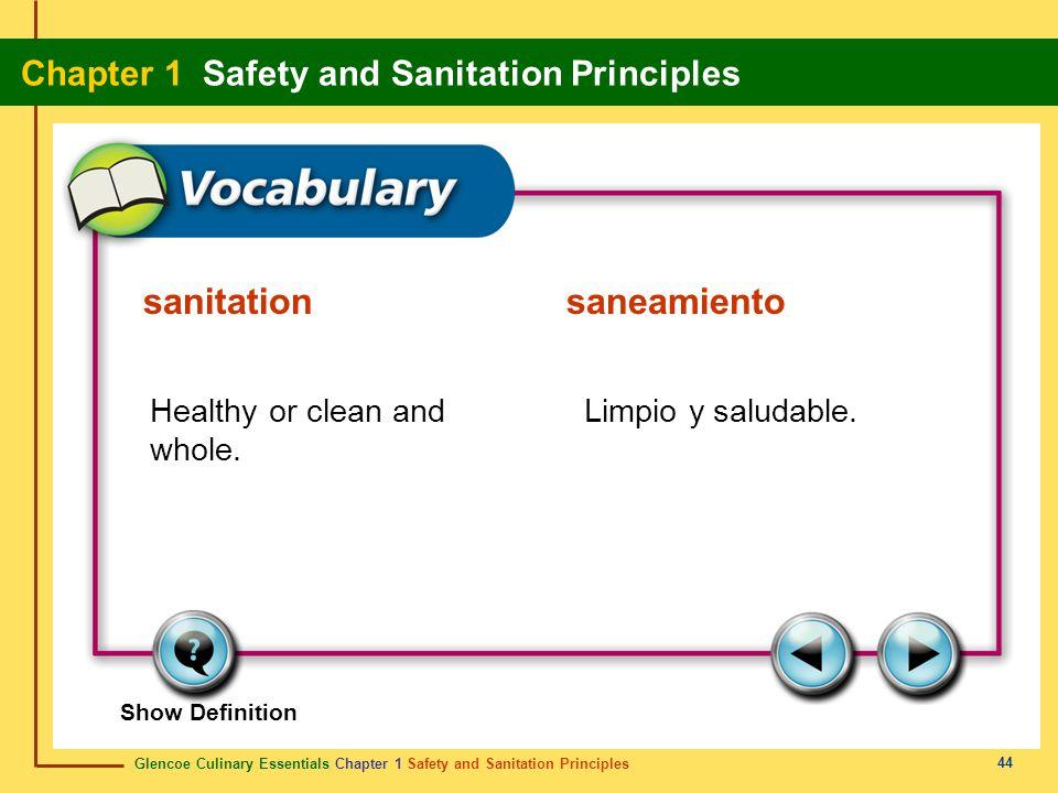 sanitation saneamiento