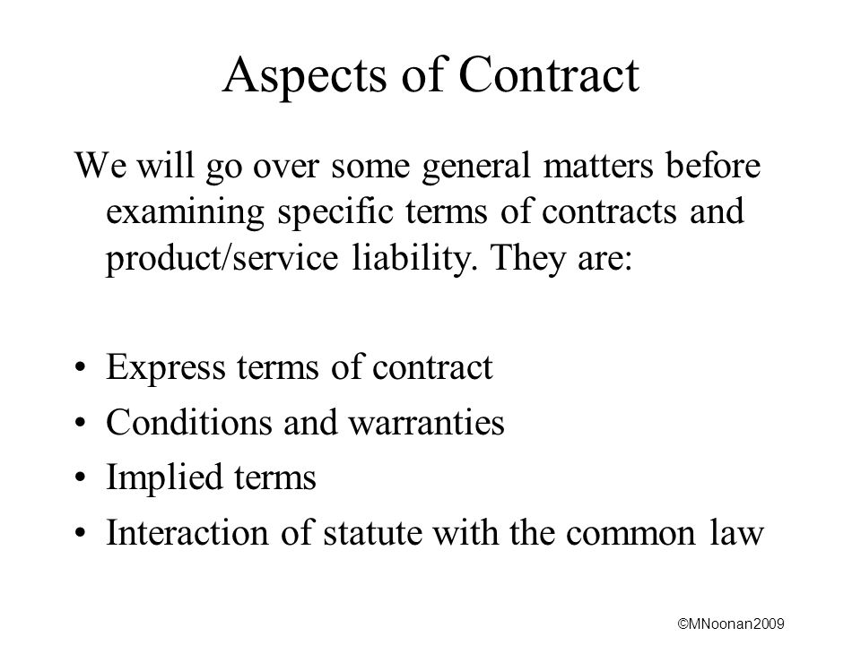 What is an 'Implied Contract '