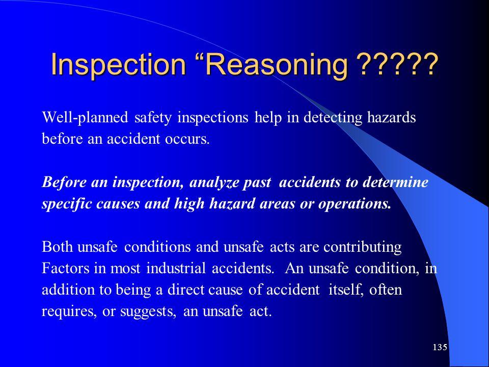 Inspection Reasoning