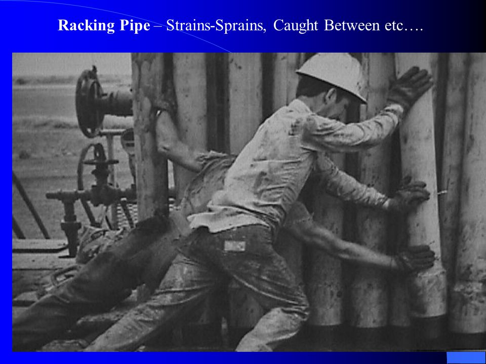 Racking Pipe – Strains-Sprains, Caught Between etc….