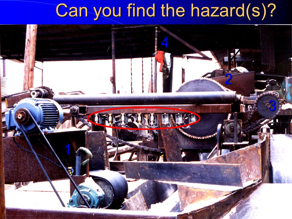 Can you find the hazard(s)