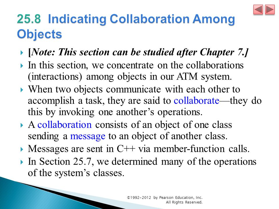 25.8 Indicating Collaboration Among Objects