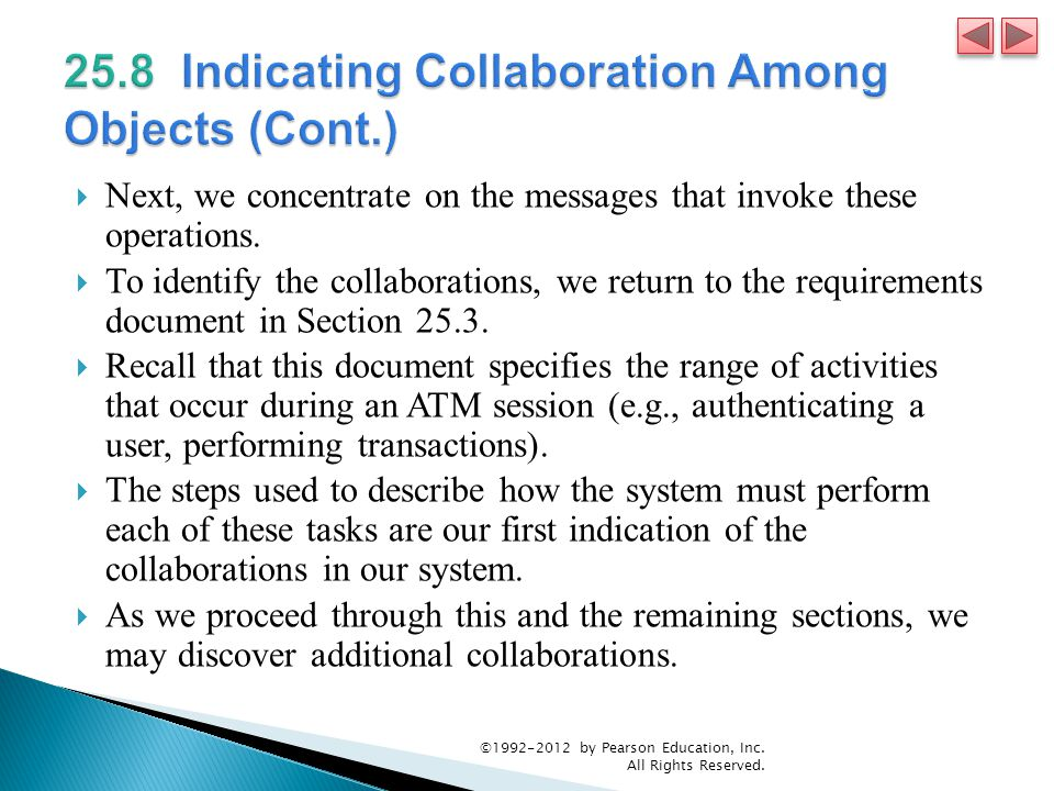 25.8 Indicating Collaboration Among Objects (Cont.)