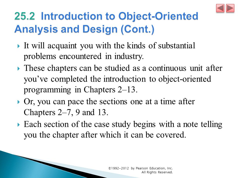 25.2 Introduction to Object-Oriented Analysis and Design (Cont.)