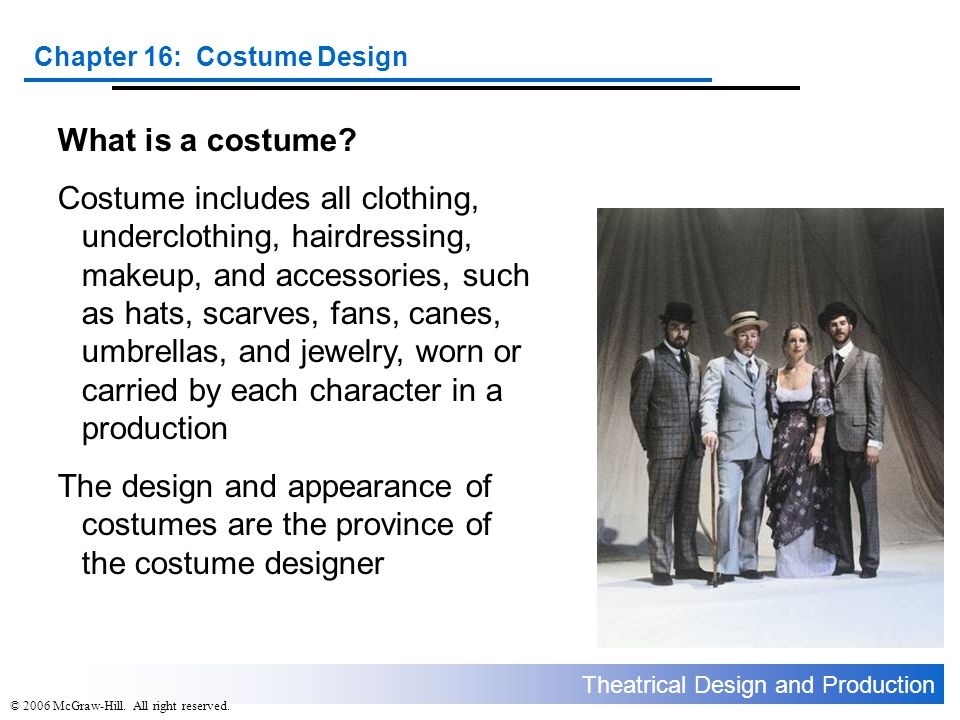 What is a costume