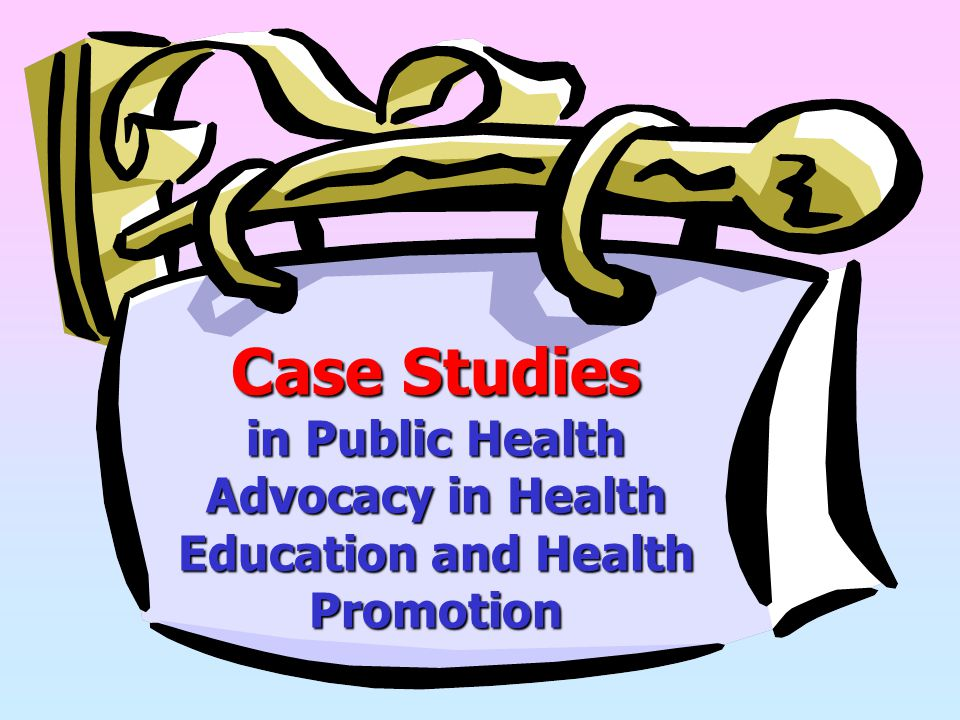Advocacy in Health Education and Health Promotion