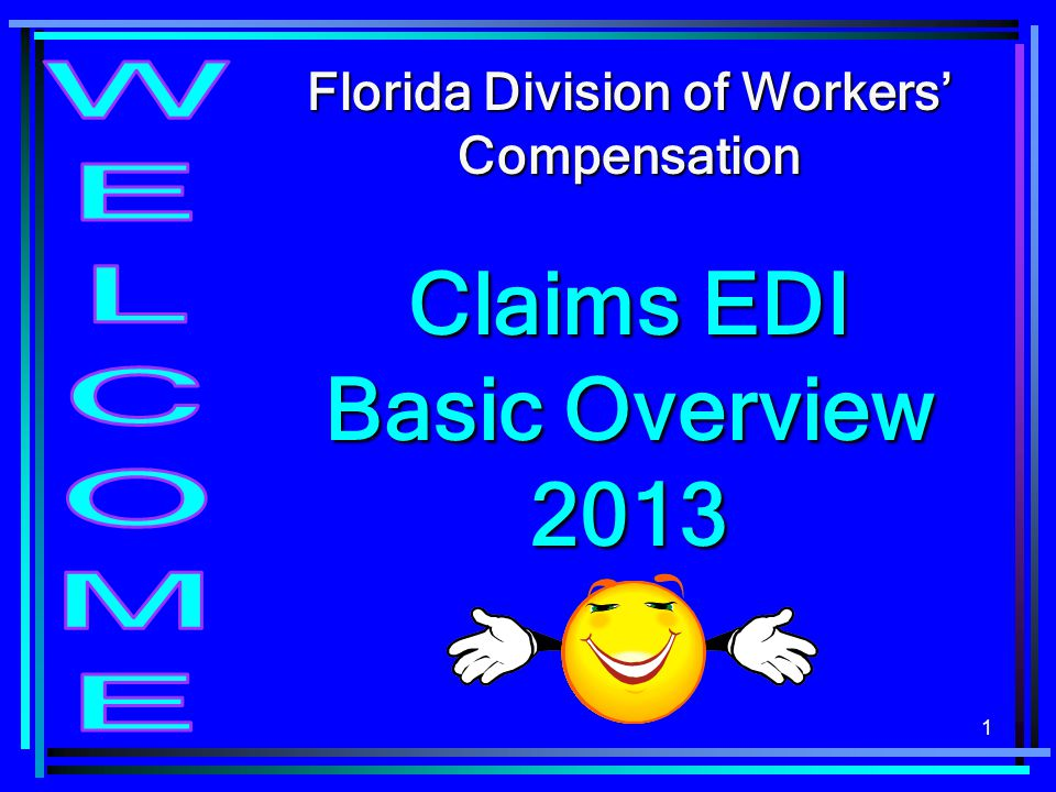 Claims EDI Basic Overview 2013