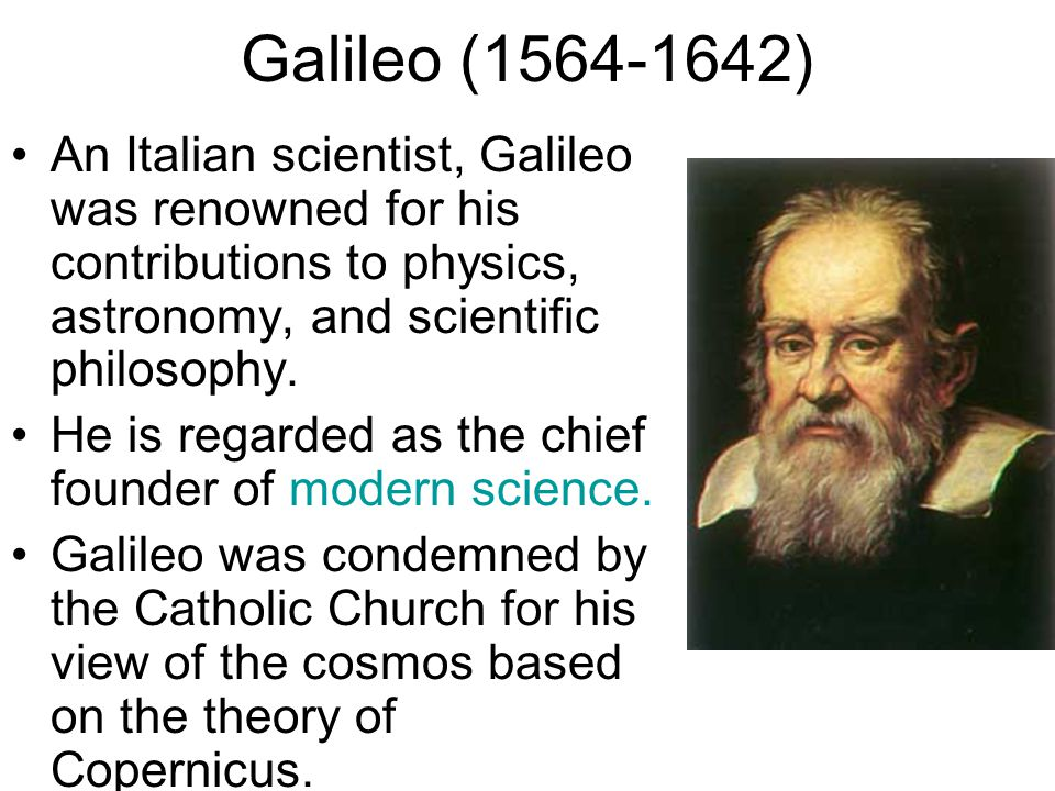 Galileo Galilei: Man of Science