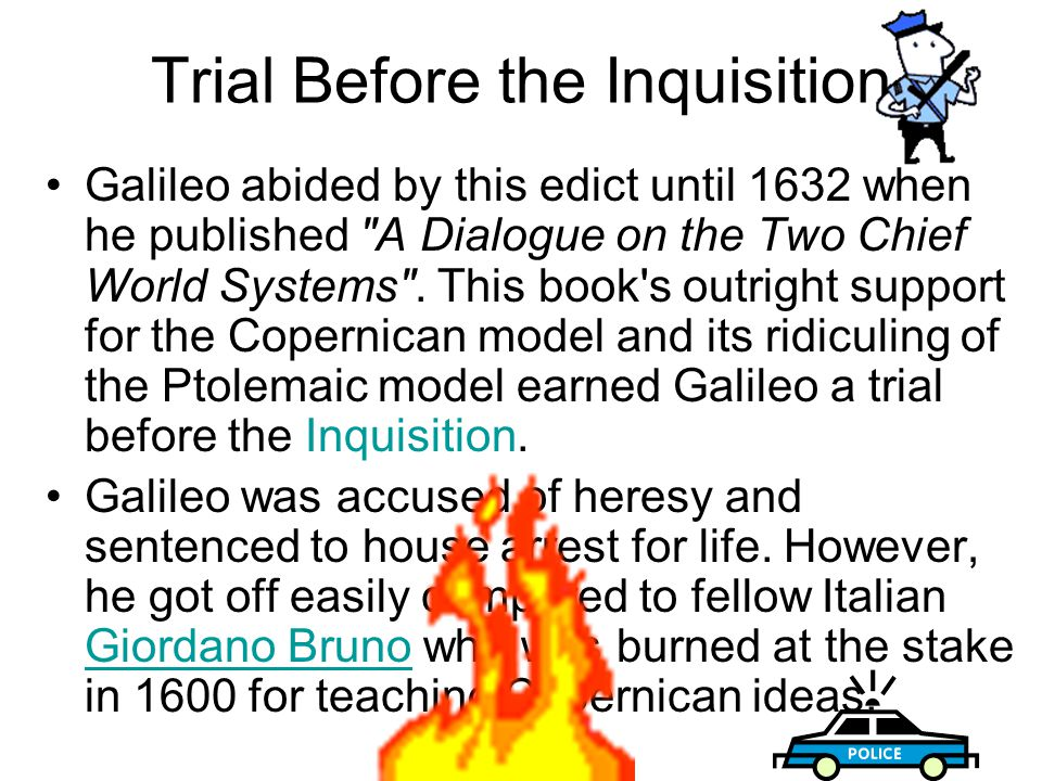 Trial Before the Inquisition