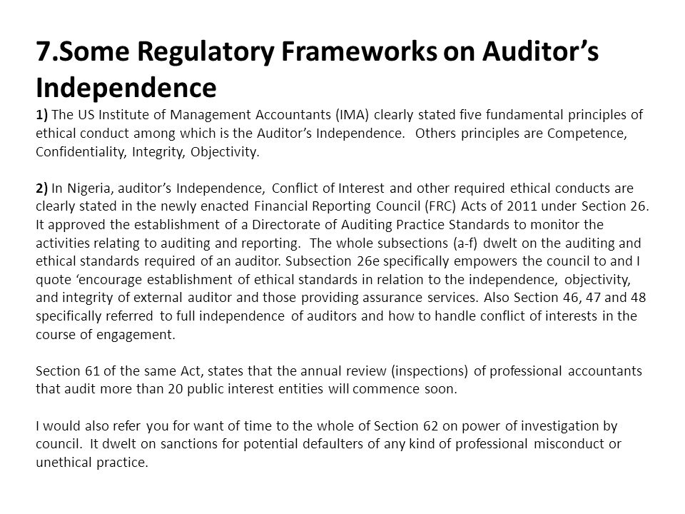 """independence of external auditor The committee reviews the results of an audit with management and external  """" the way audit committees exercise their oversight of independent auditors has."""