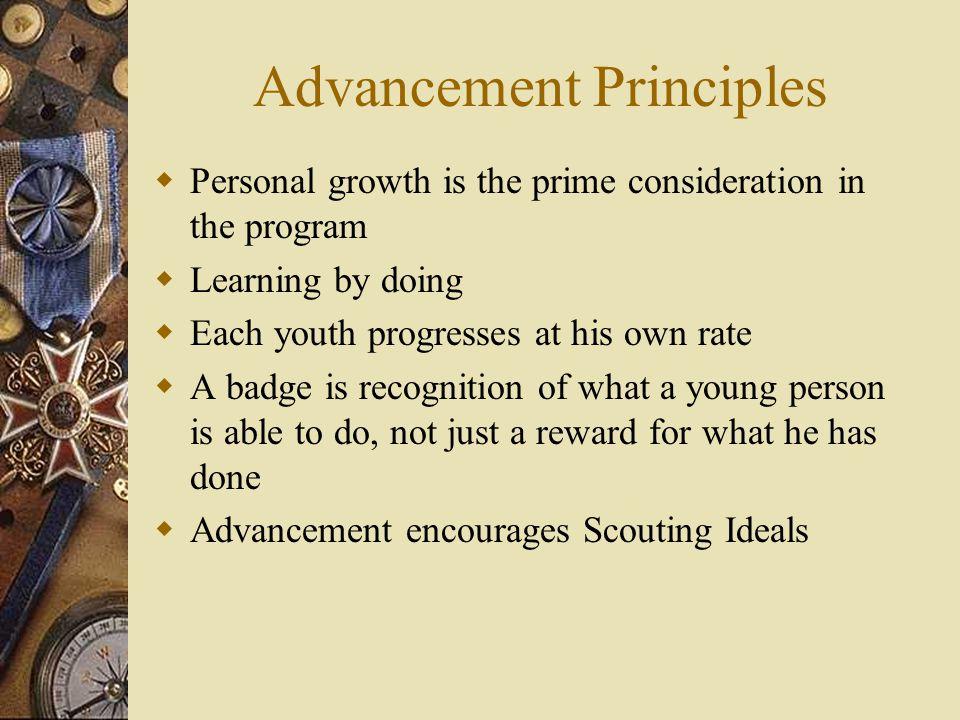 Advancement Principles