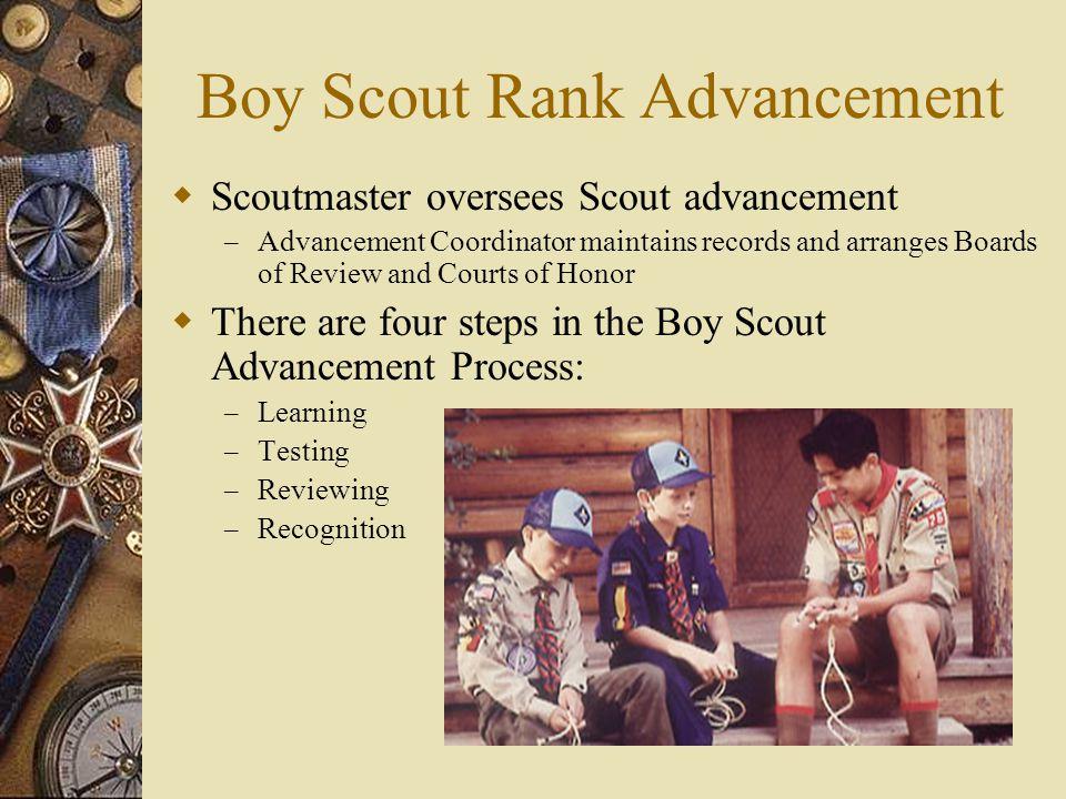 Boy Scout Rank Advancement