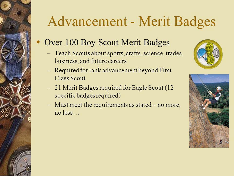 Advancement - Merit Badges