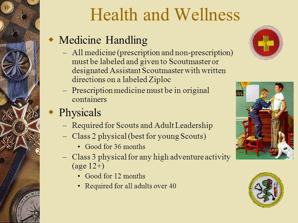 Health and Wellness Medicine Handling Physicals