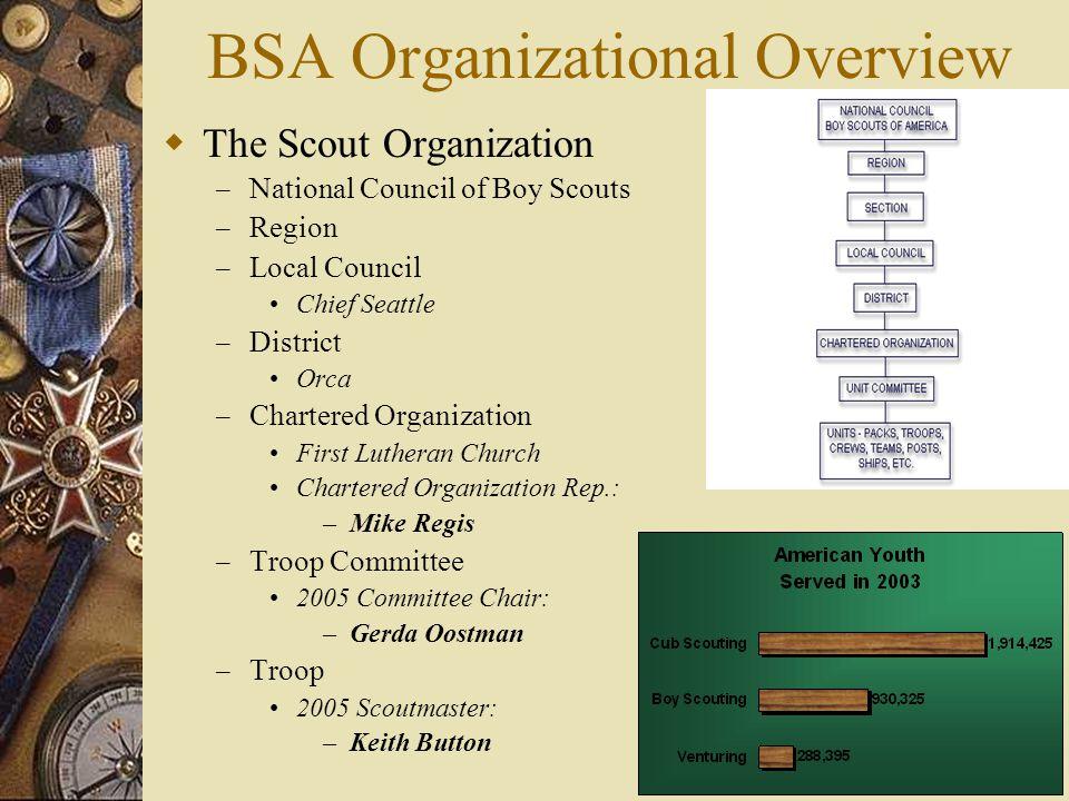 BSA Organizational Overview