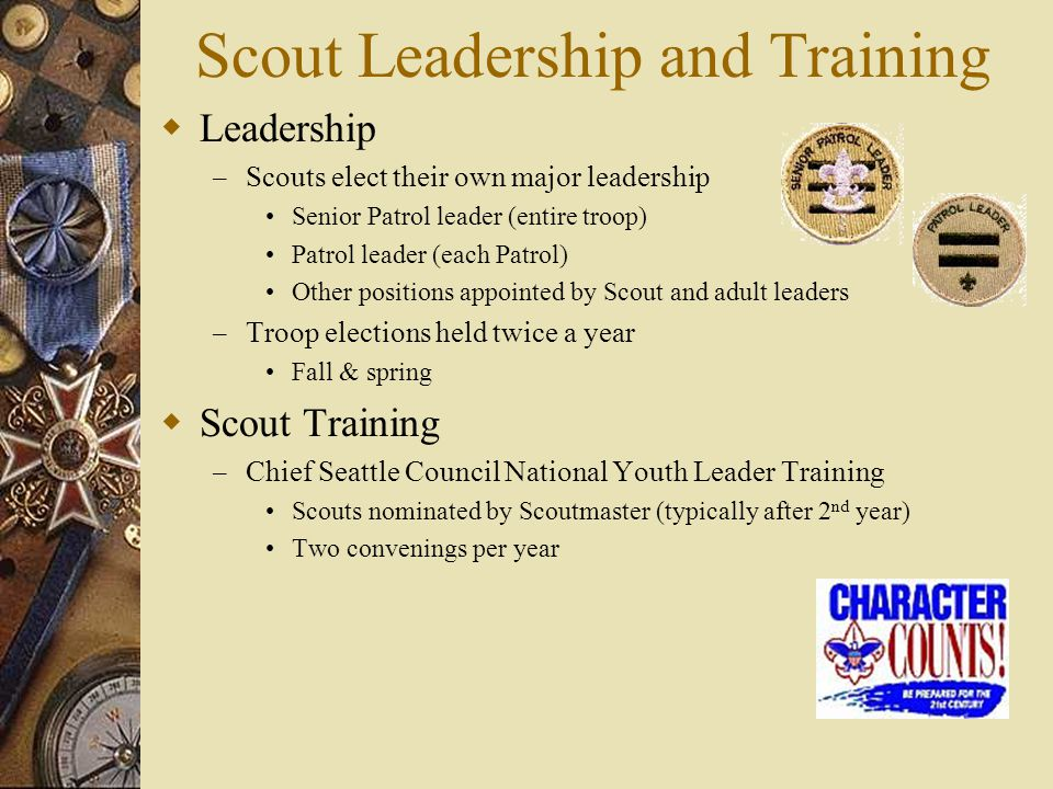 Scout Leadership and Training