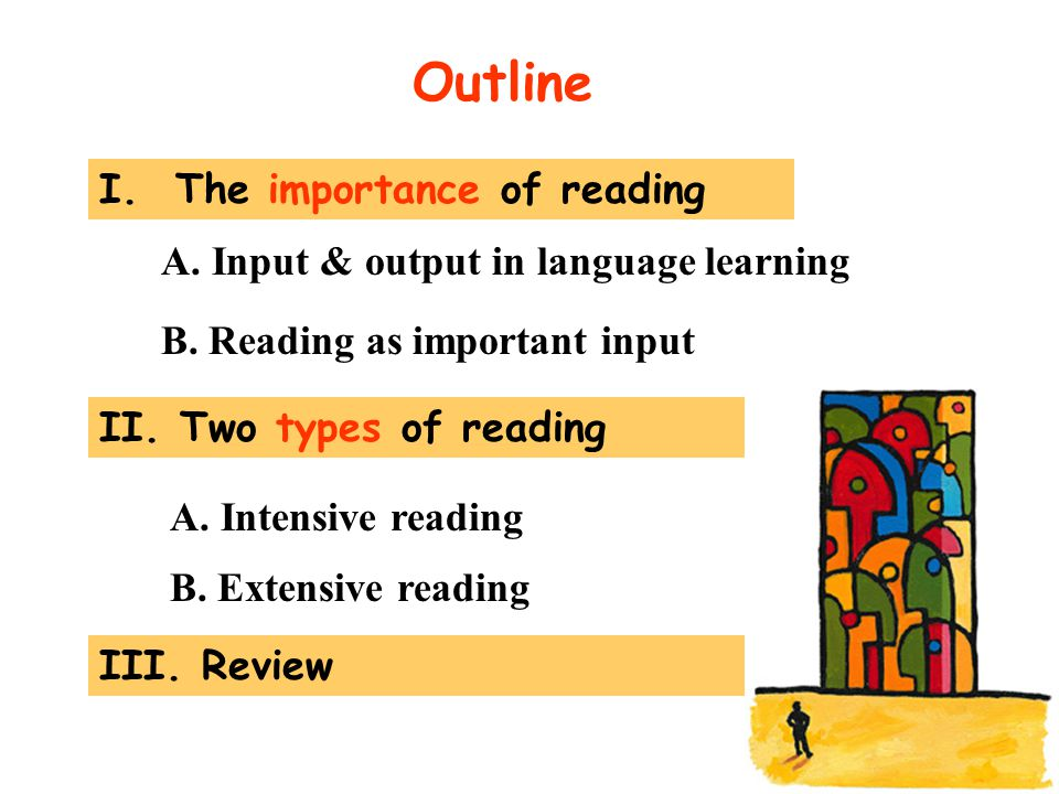 Outline I. The importance of reading