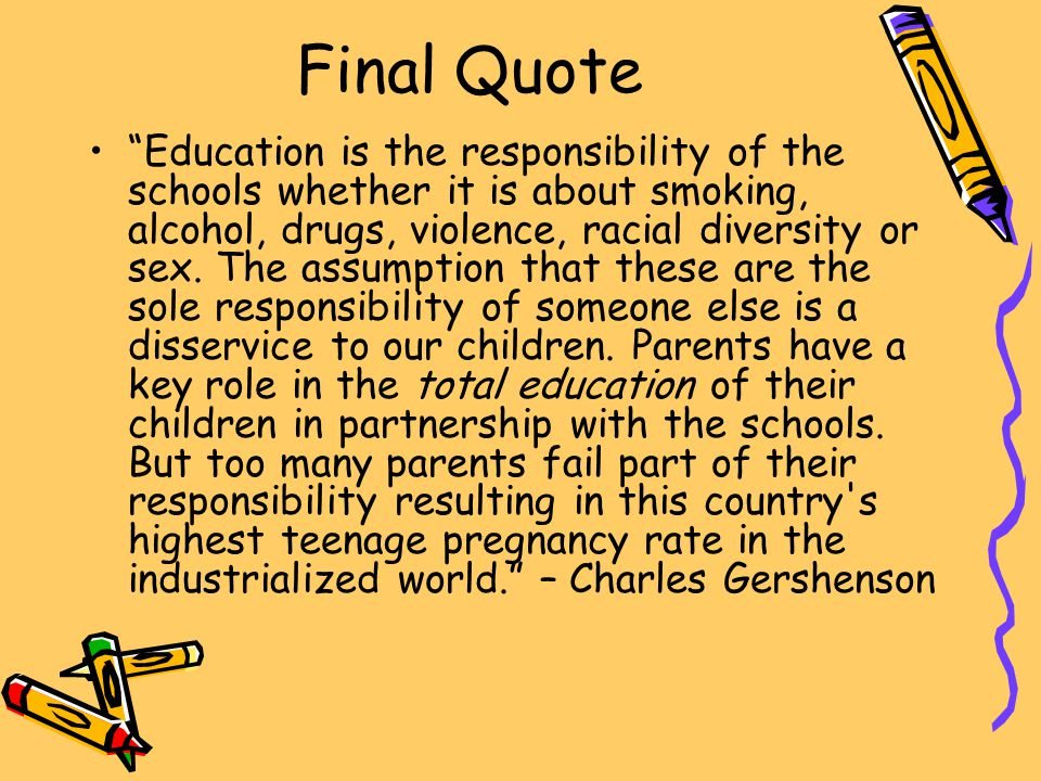 Final Quote