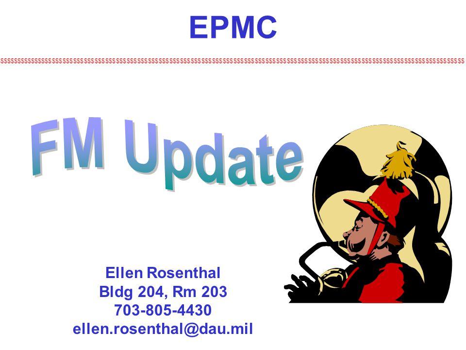 Ellen Rosenthal Bldg 204, Rm 203 703-805-4430 ellen.rosenthal@dau.mil