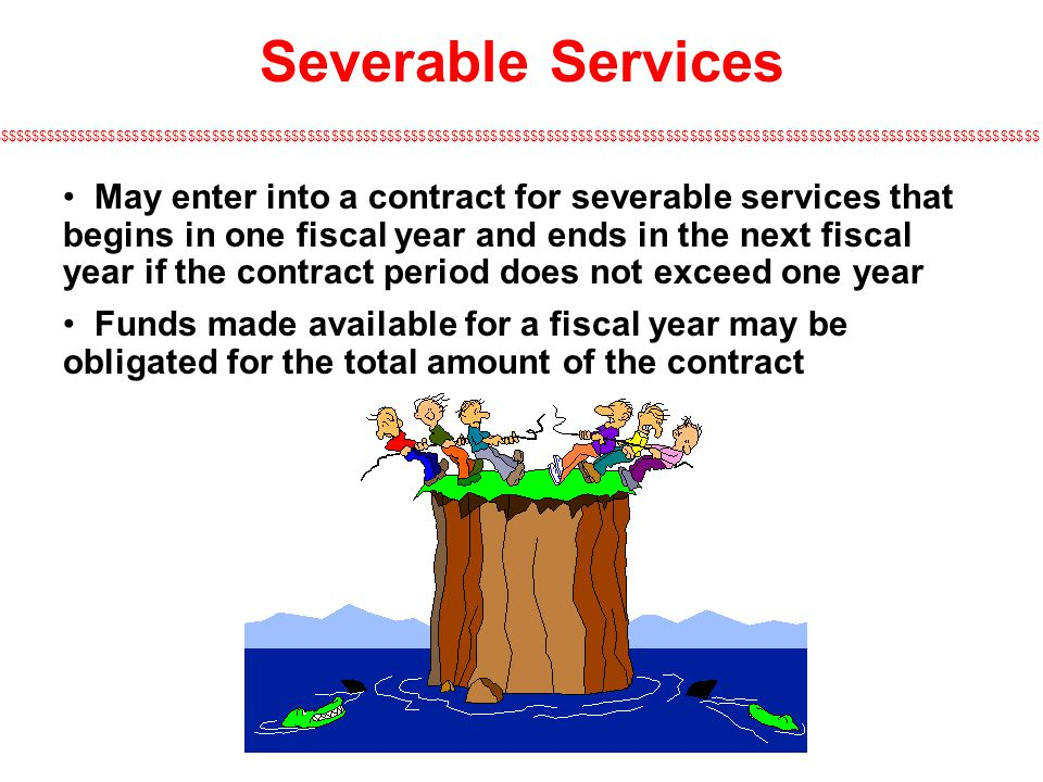 Severable Services