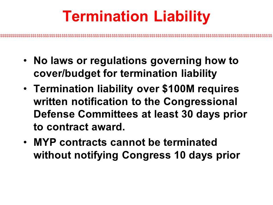 Termination Liability