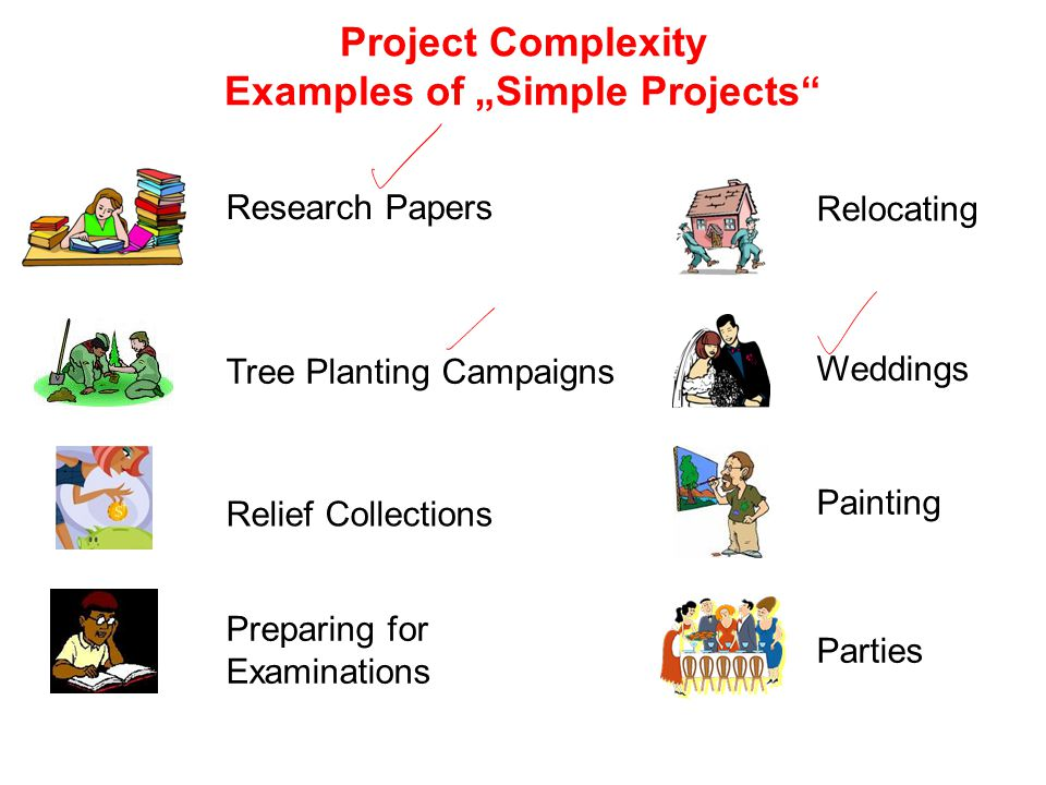 """Project Complexity Examples of """"Simple Projects"""
